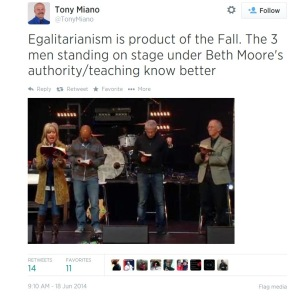 Beth Moore with Men
