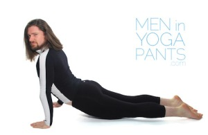 "Men can wear yoga pants, women can't (a href=""http://www.elephantjournal.com/2014/03/men-in-yoga-pants-hilarious-photos/Me in Yoga Pants"