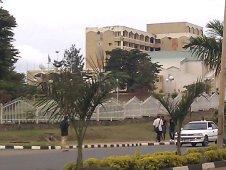 Rwanda's Parliament Building (Wikimedia)
