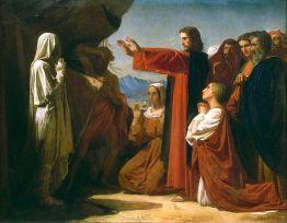 The Resurrection of Lazarus, Bonnat