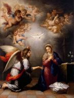 Annuciation, by Bartolomé Esteban Perez Murillo (Wikipedia)