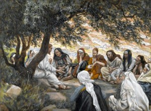 James Tissot, The Exhortation to the Apostles (Wikimedia