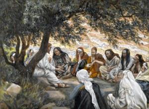 James Tissot, The Exhortation to the Apostles (Wikimedia