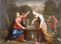 Jesus and the Samaritan Woman at the Well, by Giacomo Franceschini (Wikipedia)