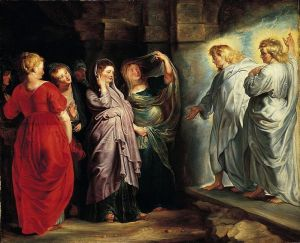 The Holy Women at the Sepulchre, by Peter Paul Rubens (Wikipedia)