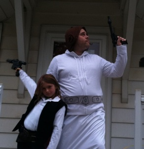 Han and Leia ready to take on the Empire (The Good Men Project)