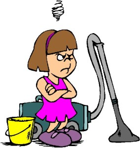 Housework? Harrumph!