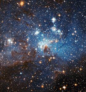 Forming stars
