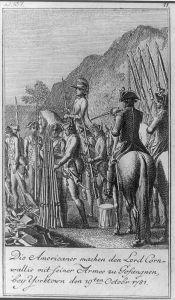 The Surrender at Yorktown (Wikimedia)
