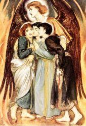 Shadrach, Meshach and Abednego (Simeon Solomon, 1863)