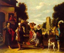 Elisha and Naaman (Lambert Jacobsz, 1598-1636)