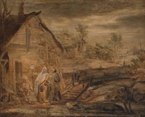 Mary and Joseph Outside the Inn, John Runciman (1744-68) (Wikimedia)