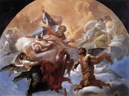 Satan Before the Lord, Corrado Giaquinto (1703–1765) (Wikimedia)