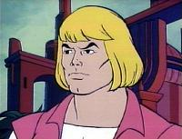 He-Man, her twin brother (Wikipedia)