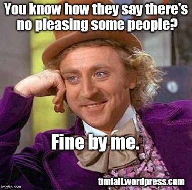 pleasing people