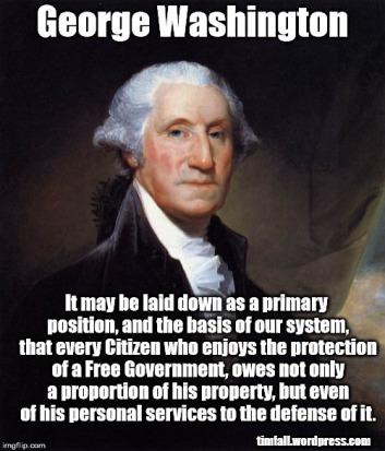 Washington on citizenship and duty