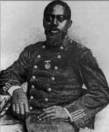 Sgt. William Carney, awarded the Congressional Medal of Honor in 1863 (Wikipedia