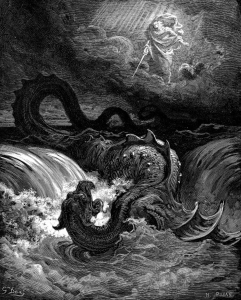 Gustave Doré - Destruction of Leviathan (as prophesied in Isaiah 27:1)