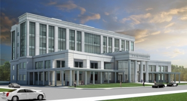 The new courthouse I just moved into a month ago (California Courts Website)