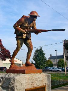 World War One memorial in Pennsylvania (Wikimedia)