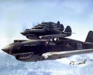 A Flying Tiger squadron (Wikimedia)