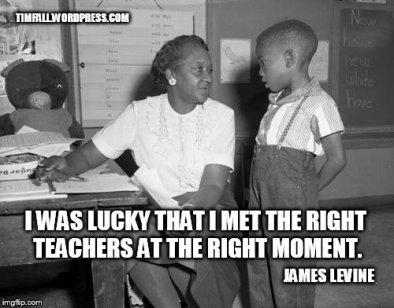 the right teacher