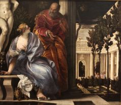Bathsheba at Bath, Paolo Veronese (ca. 1575)