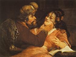 Judah and Tamar, by Aert de Gelder (1667)