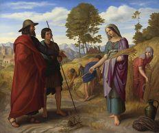 Ruth in Boaz's Field, Julius Schnorr von Carolsfeld (1828)