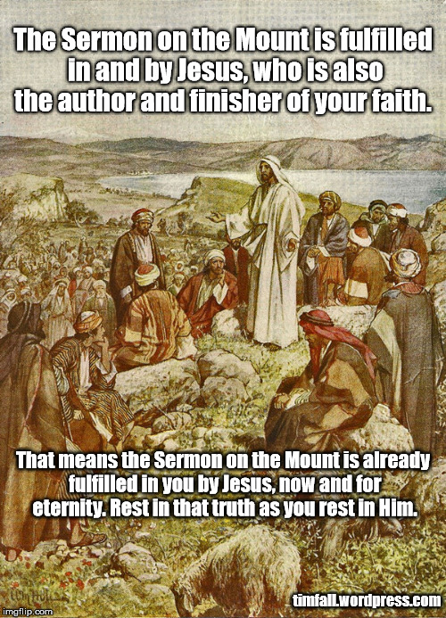 an overview of the sermon on the mount Sermon on the mount matt 5:1–7:29 a discourse by the lord to his disciples who were about to be sent forth on missions it should be placed chronologically.