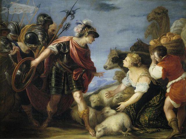 The Prudent Abigail, Juan Antonio de Frias y Escalante (1667), Museo del Prado