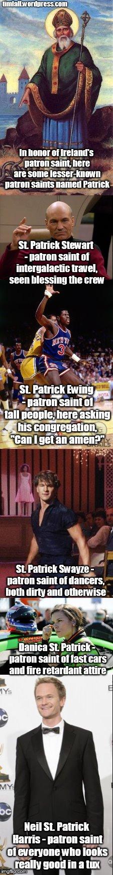 lesser known Patricks