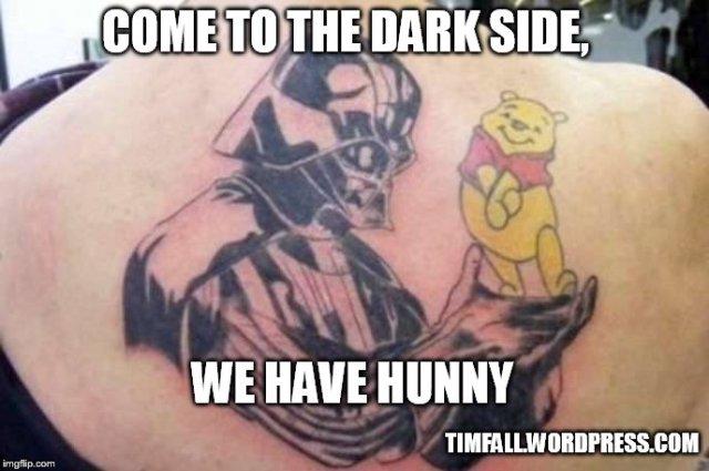 Vader and Pooh