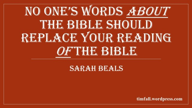words about the Bible 2