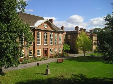 Somerville College, Oxford University - Dorothy L. Sayers' alma mater and counterpart to the fictional Shrewsbury College of Gaudy Night. (Wikipedia)