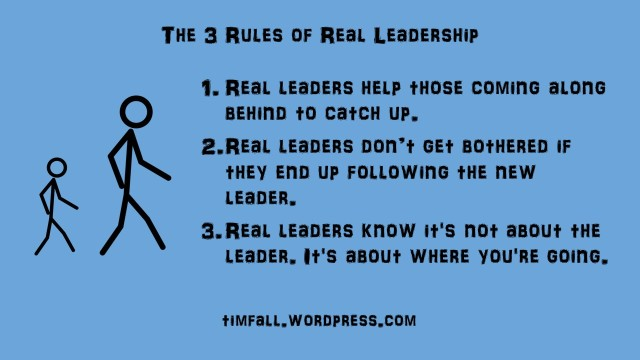 The 3 Rules of Real Leadership