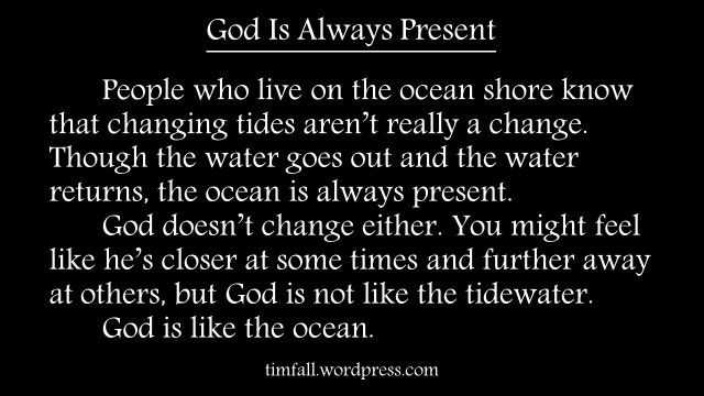 God and the Ocean