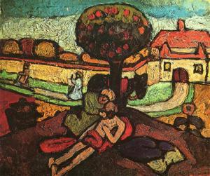 The Good Samaritan, Paula Modersohn-Becker