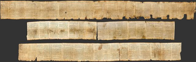The Great Isaiah Scroll (Wikimedia)