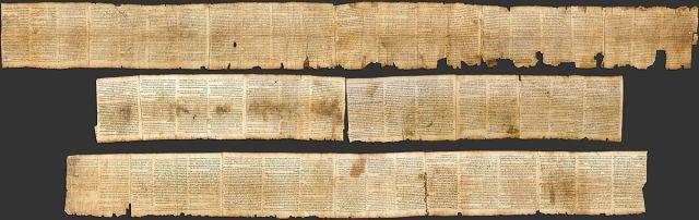 The Great Isaiah Scroll (Wikimedia)