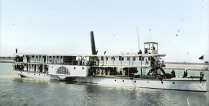 A riverboat on the Nile, ca. 1900 (Wikipedia)