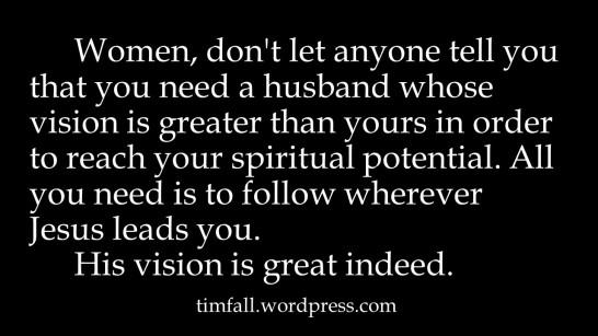 a-womans-vision