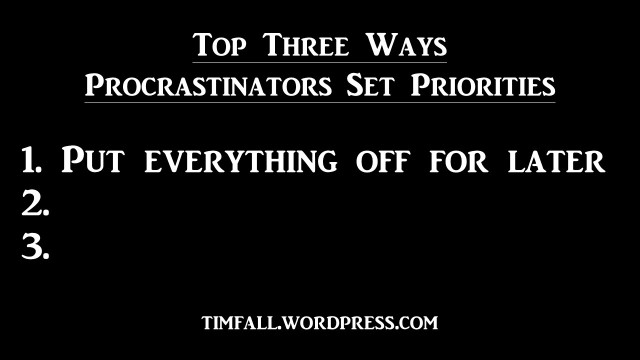 procrastination-priorities